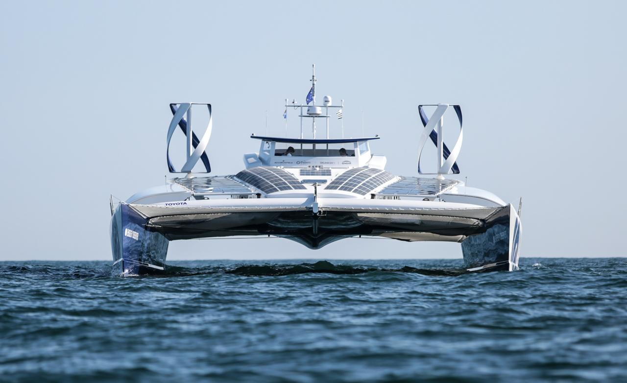 ENERGY OBSERVER : le bateau qui utilise 100% d'énergie renouvelable